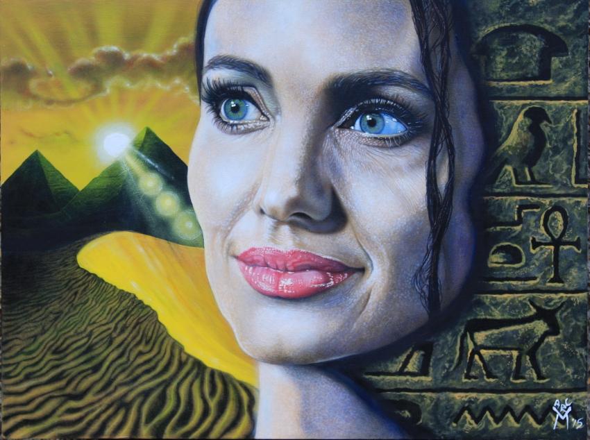 Angelina Jolie by marcantony